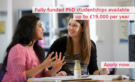 PhD studentships now available